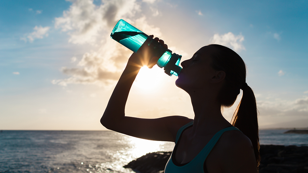 New Study : Drink Water Only When Thirsty